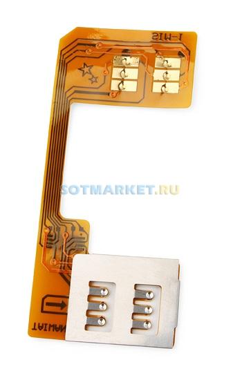 Адаптер S-mobile без вырезания SIM