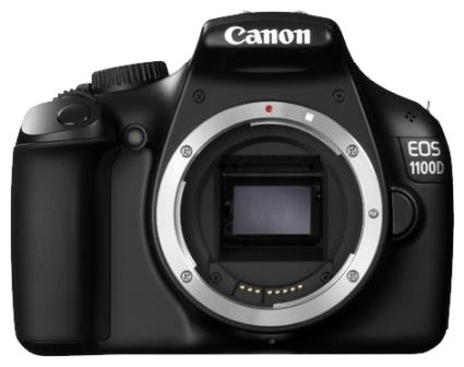 Цифровой фотоаппарат Canon EOS 1100D Body.