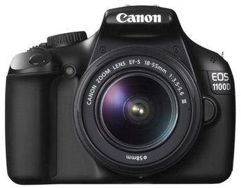 Зеркальный цифровой фотоаппарат Canon EOS 1100D Kit IS EF18-55