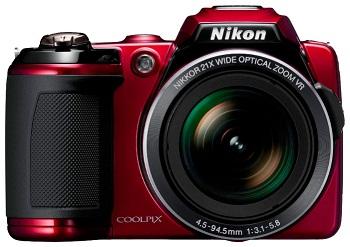 Цифровой фотоаппарат Nikon CoolPix L120 Black.