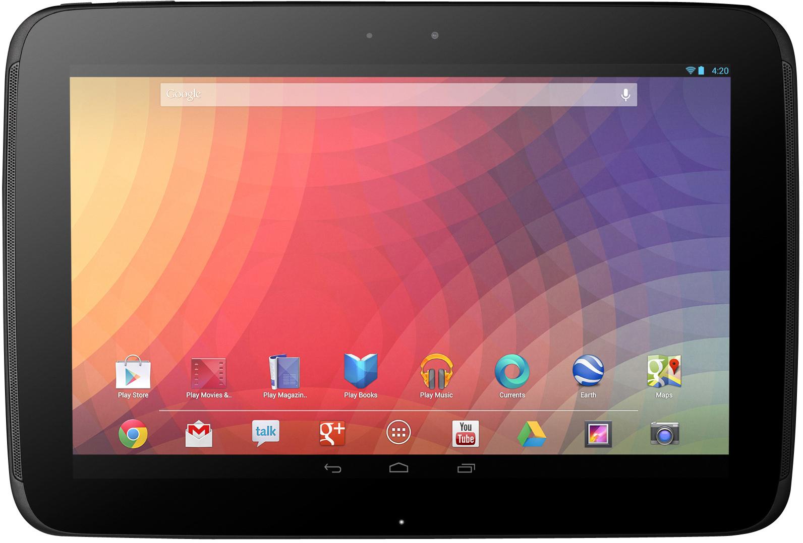 Первые слухи и факты относительно технических спецификаций планшетного компьютера Google Nexus 10.