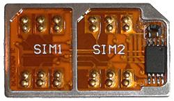 Адаптер на 2 SIM 6 поколение