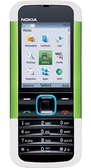 Мобильный телефон Nokia 5000 Cyber Green