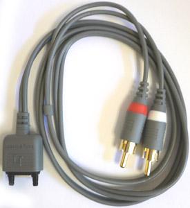 Мультимедийный аудио кабель для Sony Ericsson C902 MMC-60