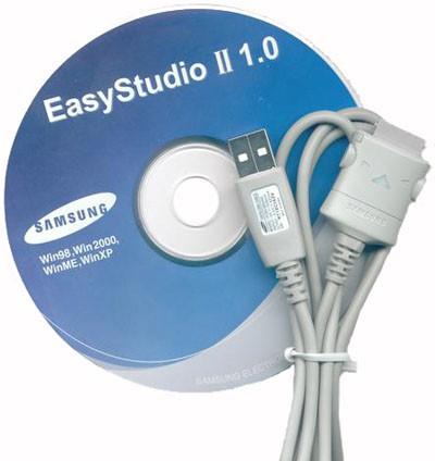 USB дата-кабель для Samsung E560 + CD.