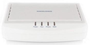 Телефонный аналоговый SIP-адаптер (ATA) Hanlong Unicorn