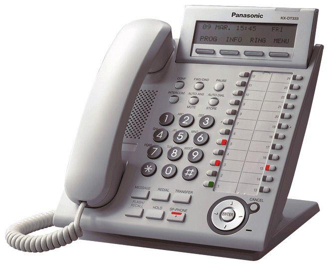 KX-DT346RU (белая) Системный цифровой телефон.