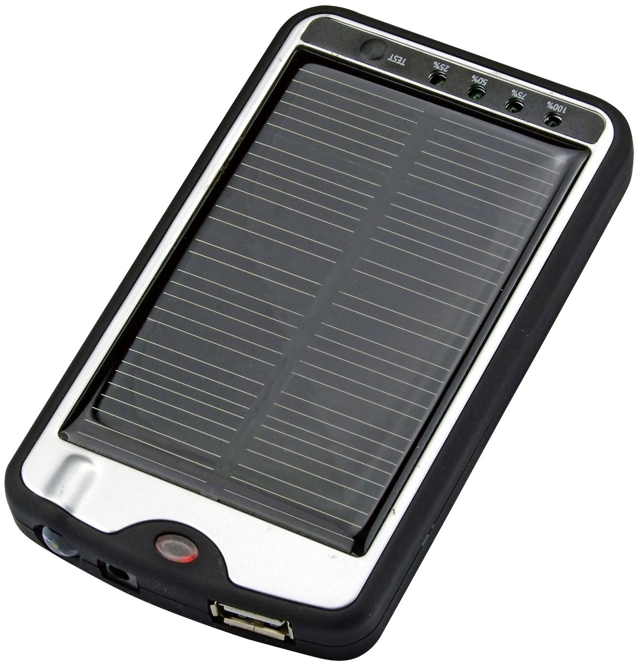 Фото портативного зарядного устройства Универсальное зарядное устройство на солнечных батареях для PocketBook 611...