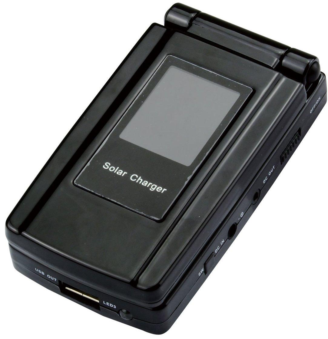 Фото зарядки Универсальное зарядное устройство на солнечных батареях для Cowon X7 Agestar AS-7580.