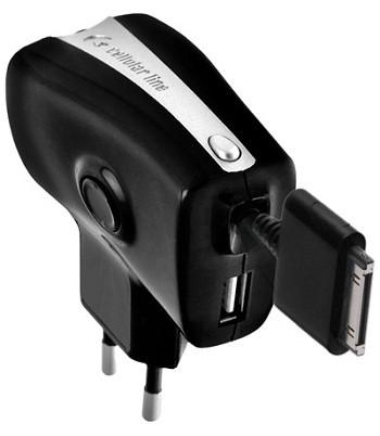 Cellular Line Roller Plus ACHARUSBIPHONE1 Сетевое зарядное устройство...