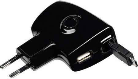 Зарядное устройство для Samsung Galaxy S3 i9300 Cellular Line Roller Plus ACHARUSBMICROUSB2.