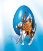 фото Playmobil Монгольский воин на коне 4926