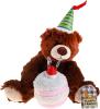 фото Интерактивная игрушка Fluffy Family Мишка с тортом 68696