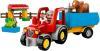 фото Конструктор LEGO Duplo Сельскохозяйственный трактор 10524