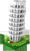 фото Конструктор LozToys Пизанская башня 9367