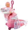 фото Набор для кормления и купания пупса в чемодане Baby Nurse Smoby 24032