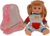 фото Кукла Joy Toy Соня в рюкзаке 33 см 5289