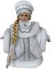 фото Кукла Новогодняя сказка Снегурочка в серебряном 30 см 971043