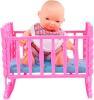фото Кукла S+S Toys Пупс с кроваткой EI66611R