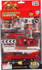 фото Набор моделей Joy Toy Пожарная техника 1:87 6232