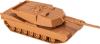 фото Танк Звезда Американский боевой Абрамс М1А1 1:100 7405