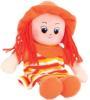 фото Gulliver Кукла-малышка в шляпке и оранжевом платье 20 см 30-11BAC3510