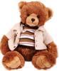 фото Gulliver Мишка в полосатом жакете и холщовом пиджаке 25 см 18-3105B-1