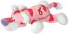фото Gulliver Тигр розовый с вышивкой 26 см 26-003