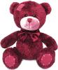 фото LAVA Медведь Берни бордовый 18 см 8533D