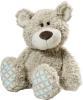 фото Медвежонок серо-бежевый сидячий 15 см NICI 35592