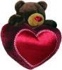 фото Orange Медведь Choco на сердце 20 см C012/20