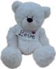 фото Plush Apple Медведь белый в футболке 27 см K11184A