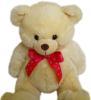 фото Plush Apple Медведь с бантом 50 см K71115D1