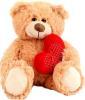 фото Plush Apple Медведь с сердцем 40 см K11182A