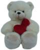 фото Plush Apple Медведь с сердцем 44 см K11392B2