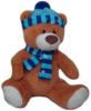 фото Plush Apple Медведь в шапке 28 см 7273GT