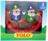 фото Погремушка для кроватки Tolo Toys Клоуны 89113