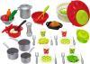 фото Ecoiffier Набор посуды 100% Chef 2621
