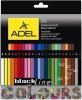 фото Карандаши Adel Blackline Colour 211-2362-000