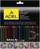 фото Карандаши Adel Blackline Colour 211-2366-000