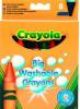 фото Мелки Crayola Big Washable Crayons 84841
