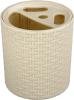 фото Подставка для зубных щеток Альтернатива Плетенка М2535