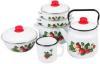 фото Набор посуды ЭМАЛЬ Лесная ягода 2-3026/4