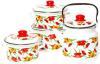 фото Набор посуды ЭМАЛЬ Вальс цветов 2-3083/6М