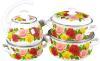 фото Набор посуды КМК Розовый рай-С