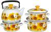 фото Набор посуды КМК Солнечная долина