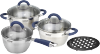 фото Набор посуды Vitesse Blue Arch VS-2046
