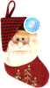 фото Фабрика Деда Мороза Носок новогодний 30.5 см GT6061