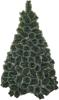 фото Фабрика Деда Мороза Сосна 1.8 зеленая пушистая посеребренная