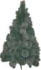 фото Фабрика Деда Мороза Сосна 1.8 зеленая с инеем